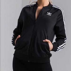 Adidas Superstar Trefoil Striped Track Jacket